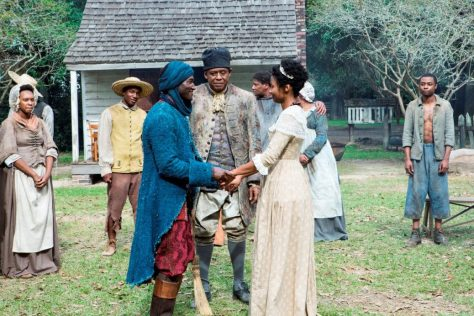 A scene from the 2016 Roots Miniseries