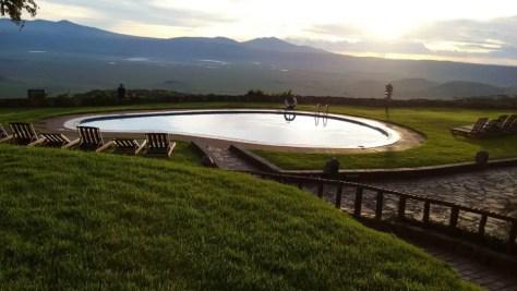 Ngorongoro Sopa Lodge Pool, Tanzania