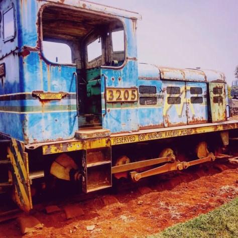 Kenya Railways Train 3205, Nairobi Railway Museum