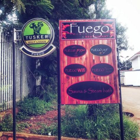 Fuego Cocktails & Restaurant, Muyenga, Kampala, Uganda