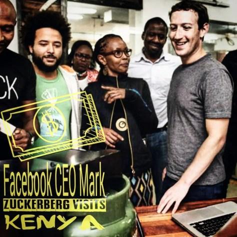 Mark Zuckerberg Visits Kenya