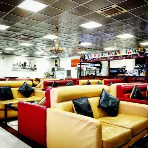 The VIP Lounge at Julius Nyerere International Airport, Dar es Salaam
