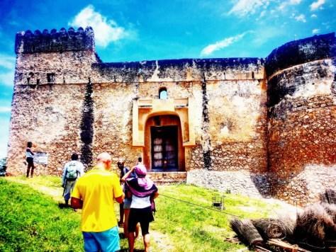 The Fort at Kilwa Kisiwani