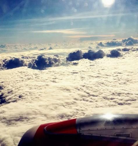 Clouds Under Kenya Airways