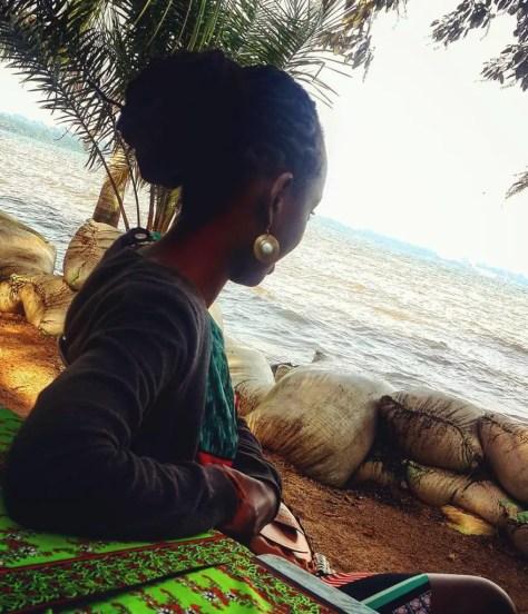 Moreen at Goretti's, Entebbe