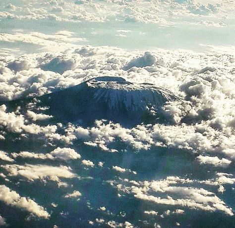 Mount Kilimanjaro Kibo Peak in All Its Glory