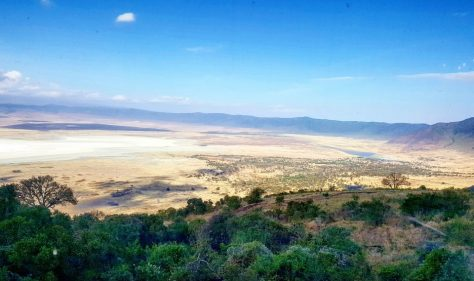 Overview of Ngorongoro Crater No Reference