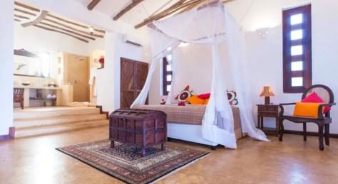 Bedroom at Kasha Boutique Hotel, Matemwe, Zanzibar, found through Booking.com