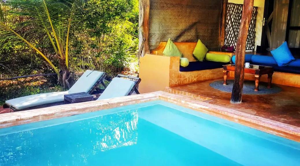 Plunge Pool, Kasha Boutique Hotel, Zanzibar