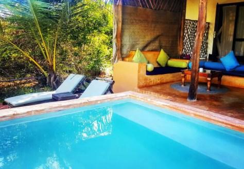 Matemwe hotels: Plunge Pool, Kasha Boutique Hotel, Zanzibar