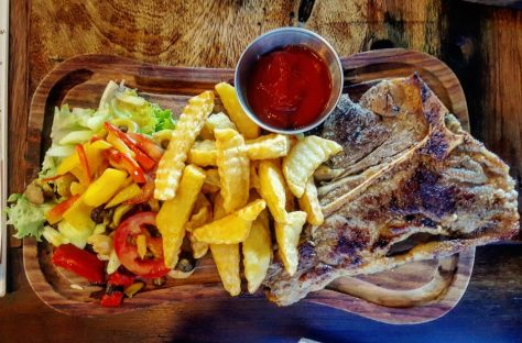 Steak and fries, SALT