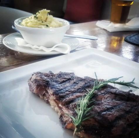 Steak at Sierra Brasserie, Nairobi