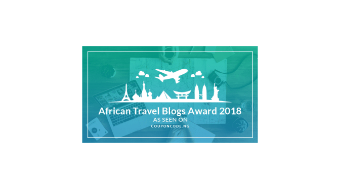 African Travel Blogs Award 2018