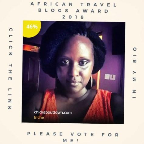African Travel Blogs Award