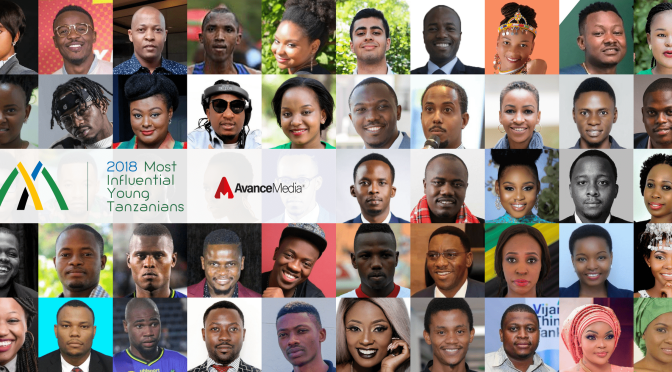 50 Most Influential Young Tanzanians 2018: Vote Now!