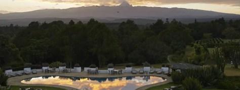 Swimming Pool Mount Kenya Safari Club