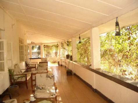 Balcony at Mama Pierina's in Morogoro