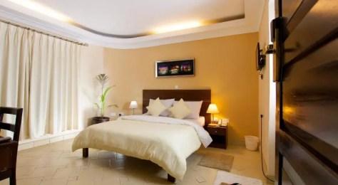 A room at Capital Heights Hotel, Nairobi