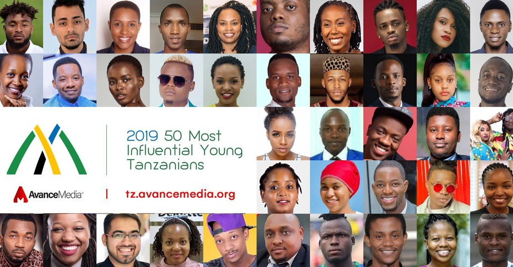 Collage - 50 Most Influential Young Tanzanians including Millard Ayo