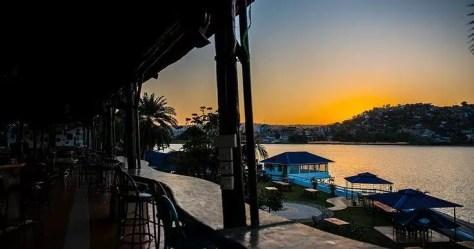 Sunrise at Tilapia Hotel