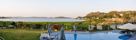 The view of Lake Victoria from Ryan's Bay Hotel Mwanza