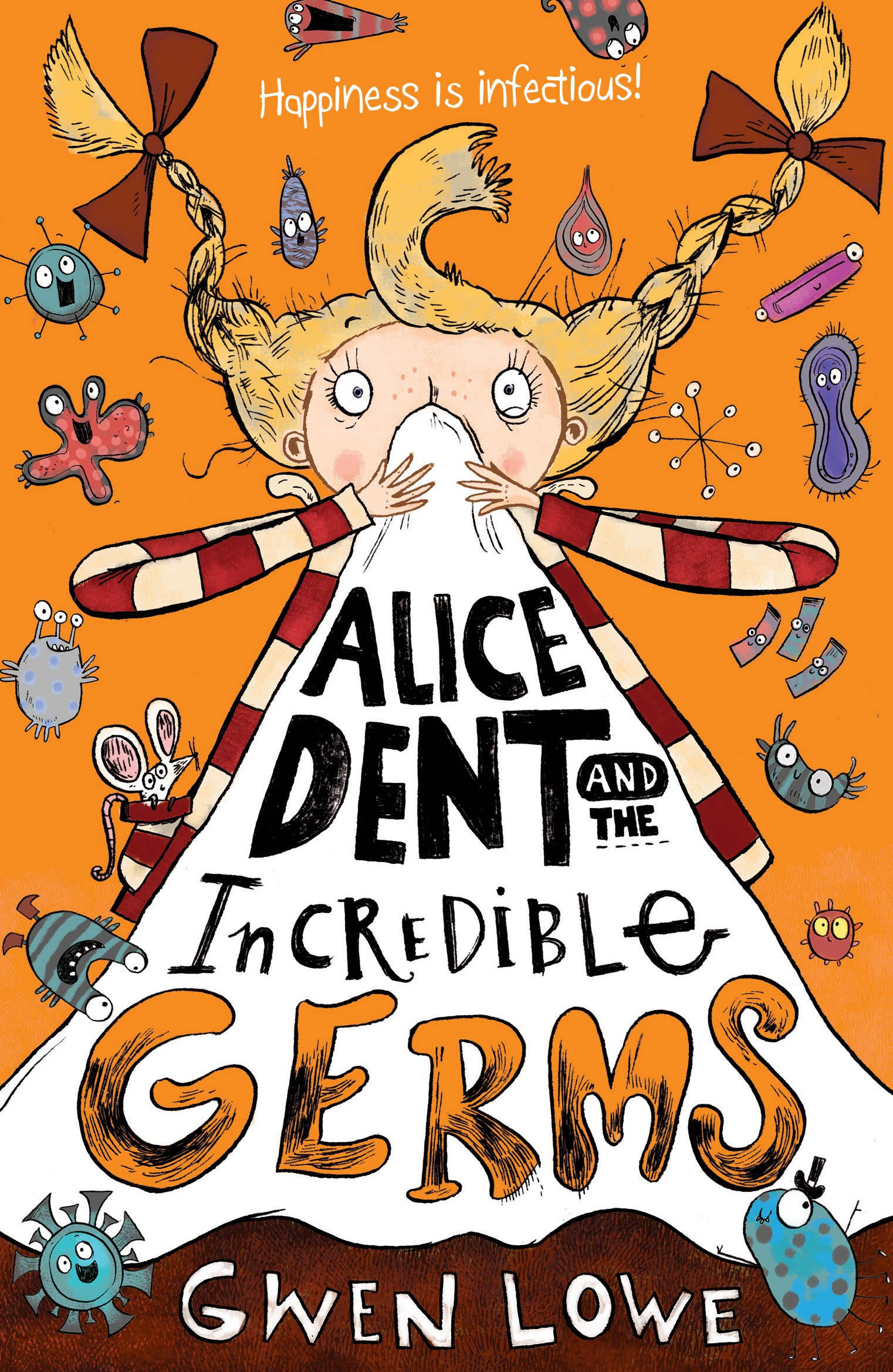 Chicken House Books Alice Dent And The Incredible Germs