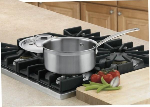 Durable Stainless Steel Saucepan Use