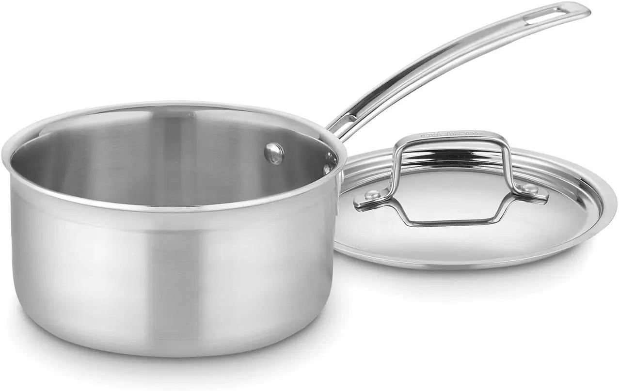 Durable Stainless Steel Saucepan