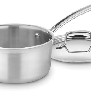 Durable Stainless Steel Saucepan