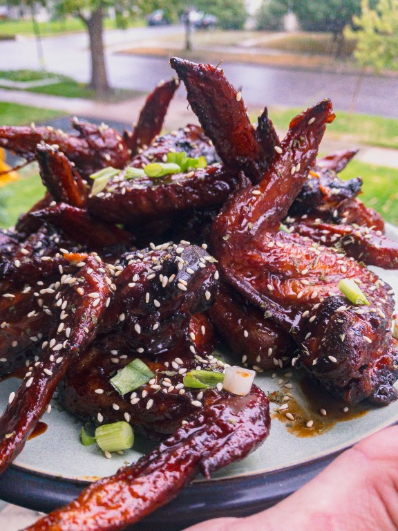 Terrific 24-Hour Teriyaki Chicken Wings