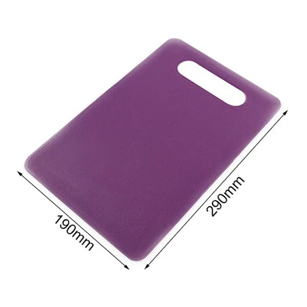 190 millimeters by 290 millimeters purple cutting board dimensions