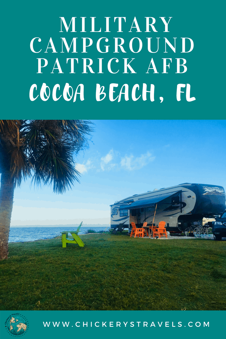 Enjoy Patrick Afb Family Campground On Florida S Space Coast