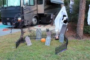 Fort Wilderness Halloween Decor Cemetery