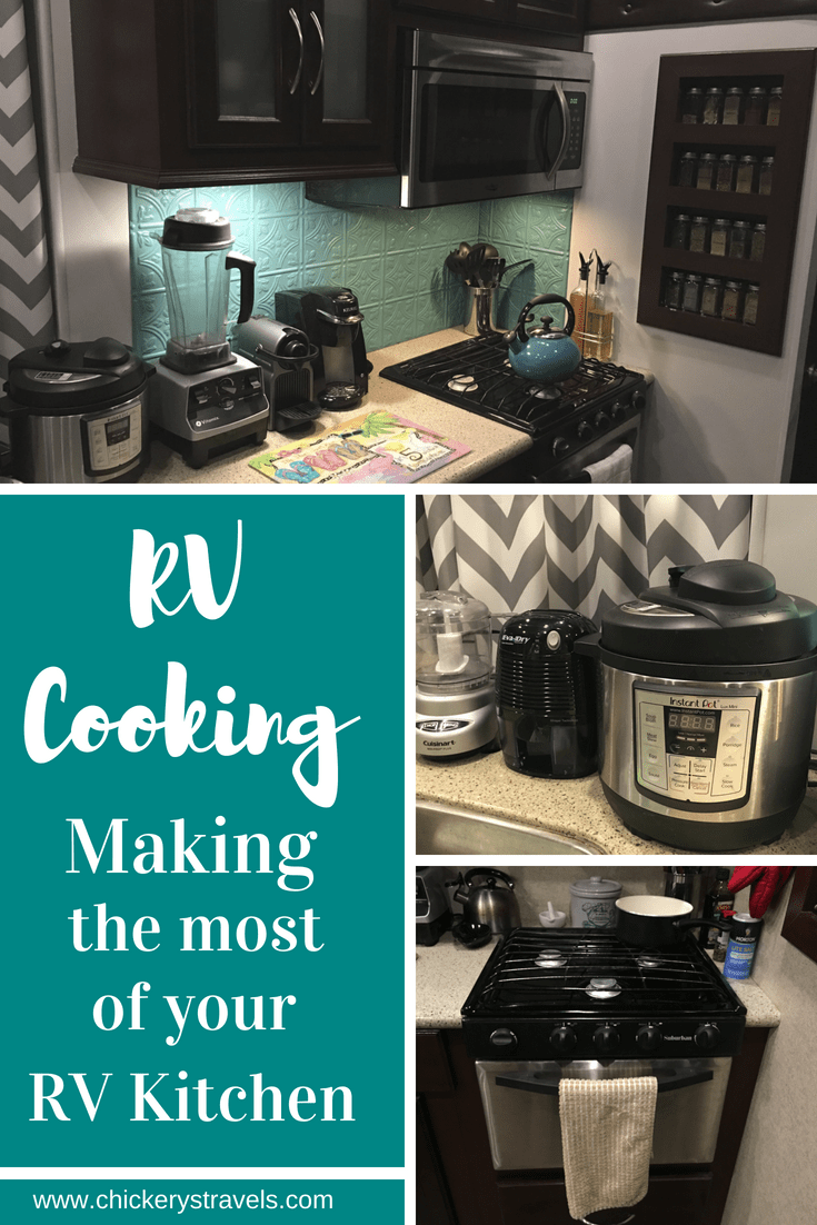Small Kitchen Cooking in the RV, Make the Most of your RV Kitchen