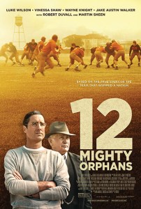 12 mighty orphans poster 202x300 - Quickie Review: 12 Mighty Orphans