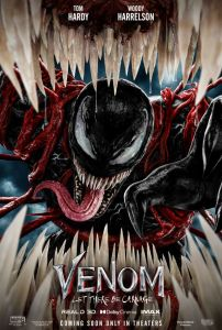 Venom poster 202x300 - Review: Venom: Let There Be Carnage