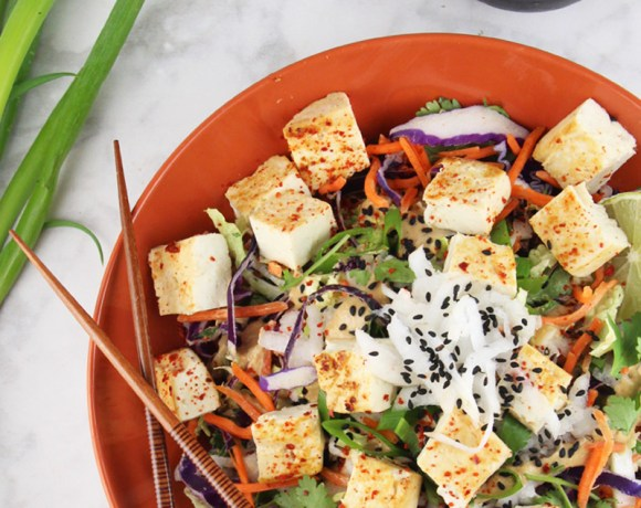 Thai Crunch salad {Video}