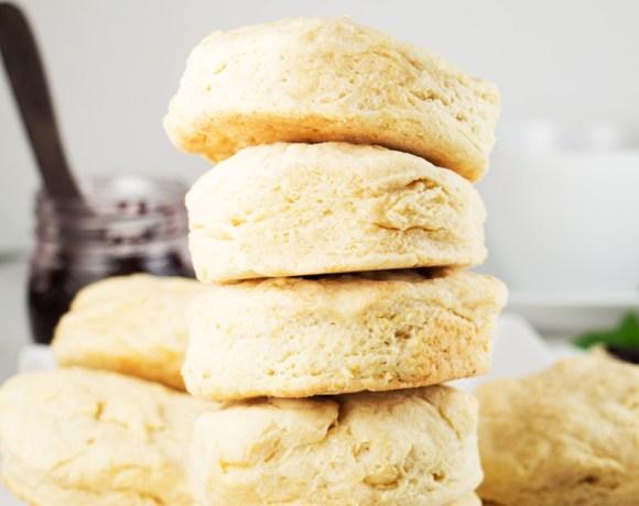 Homemade vegan biscuits