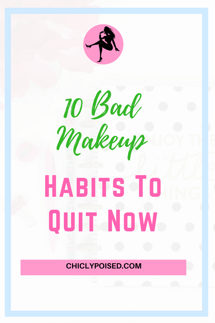 Get Flawless Makeup Look By Quitting These Habits