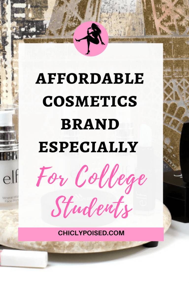 Elf An Affordable Makeup Brand Especially For Students On A Tight College Budget. Chiclypoised | Chiclypoised.com | png