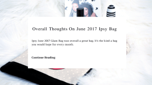 My Thoughts On June 2017 Ipsy Bag | Chiclypoised | Chiclypoised.com CP9