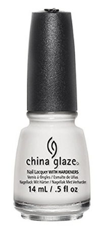 30 White Nail Polishes Under 10 Dollars | China Glaze White Out Nail Lacquer | Chiclypoised.com