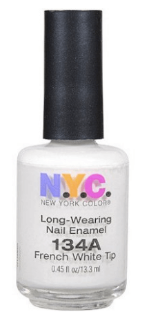 30 White Nail Polishes Under 10 Dollars | NYC French White Tip | Chiclypoised.com