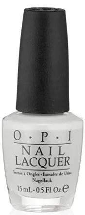 30 White Nail Polishes Under 10 Dollars | OPI Alpine Snow