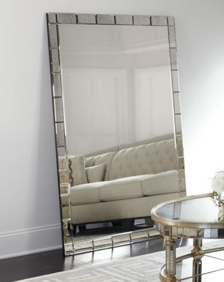 Improve Your Home Decor and Instagram Game With A Floor Mirror   Benedict Floor Mirror  Chiclypoised.com