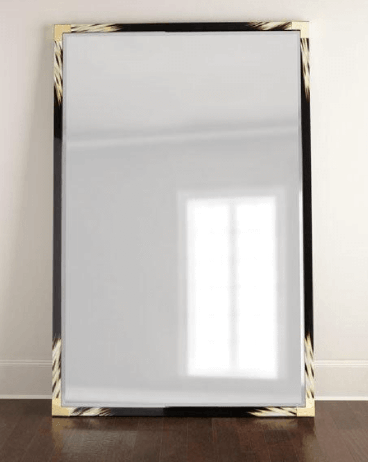 Improve Your Home Decor and Instagram Game With A Floor Mirror   Blaise Floor Mirror  Chiclypoised.com