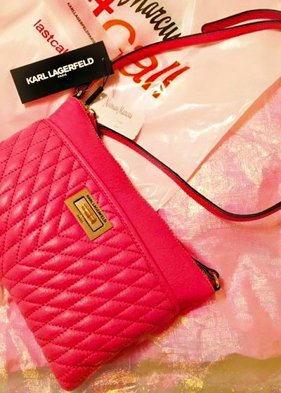 Karl Lagerfeld Crossbody Bag: Unboxing