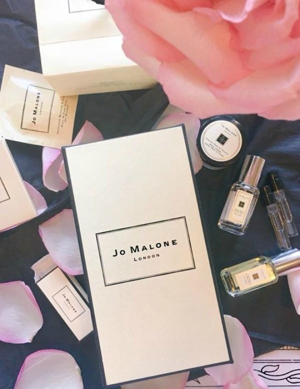 A Jo Malone fragrance in a box.