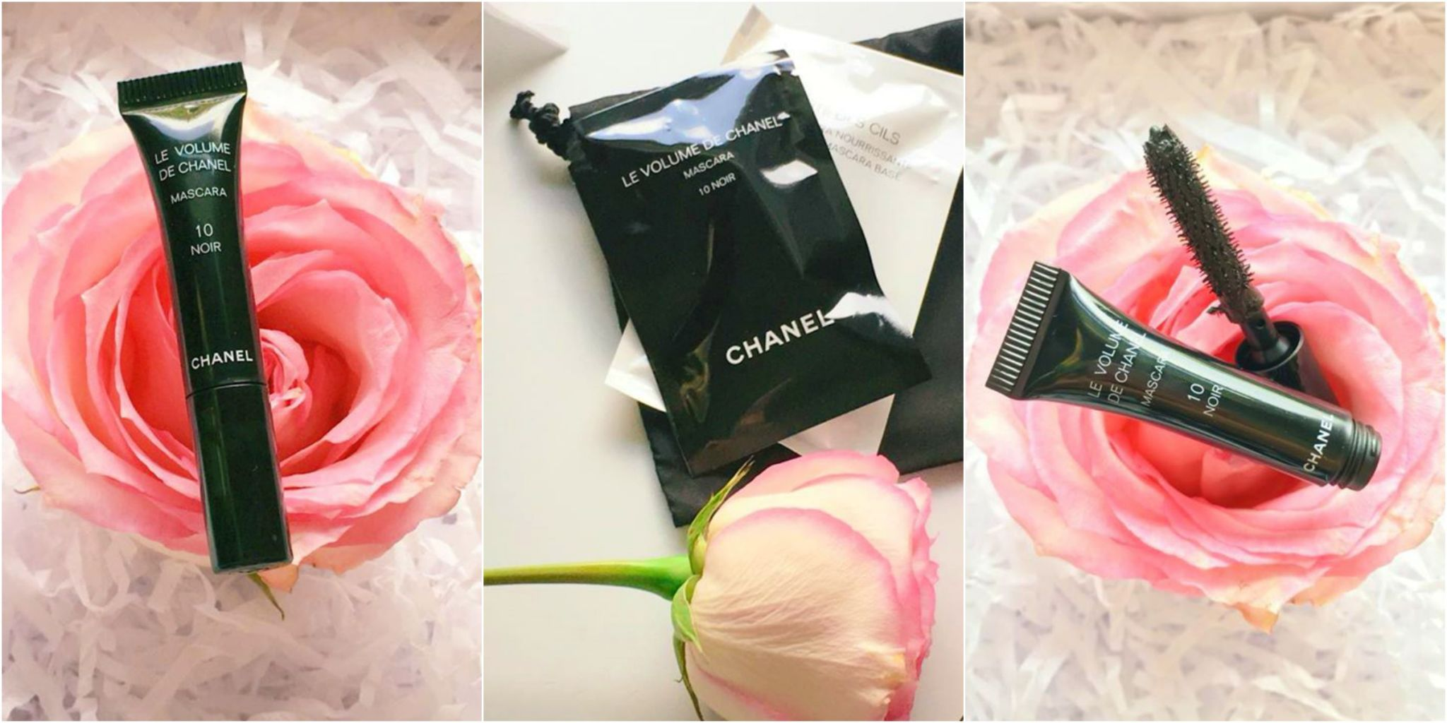 A sample mascara from Chanel