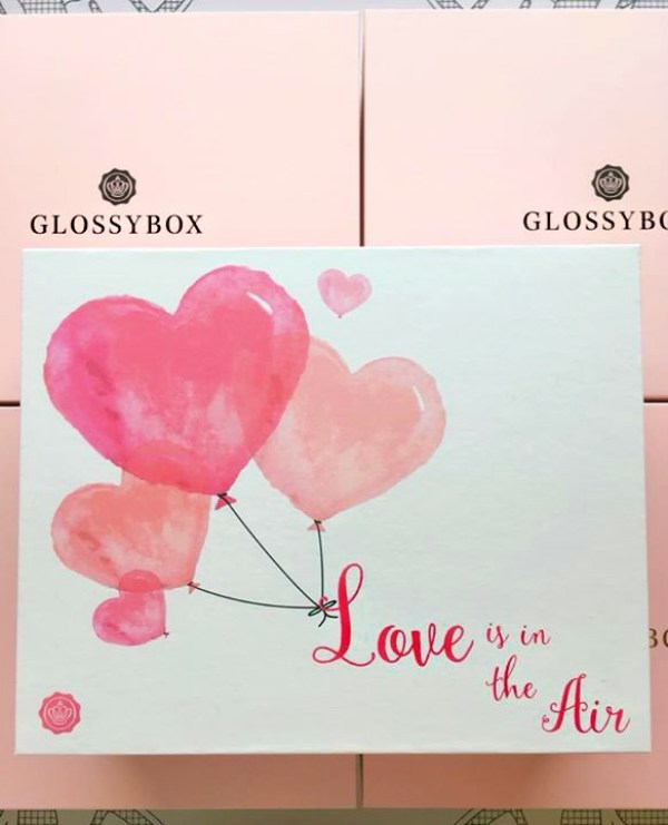 Hearts of Glossybox covers